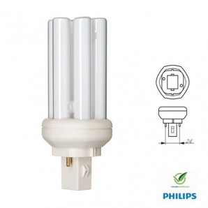 Energiesparlampe PL-T 2P 18W 827 559 791 PHILIPS MASTER