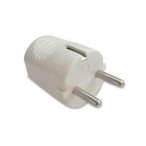 Plugs and air bases - Clavija blanca 2P+TT 16A GSC 0203998