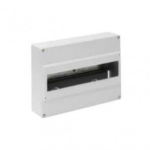 Electrical box 14 elements of surface classic WHITE SOLERA 703G