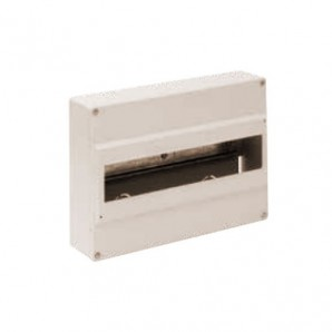 Electrical box 14 surface elements classic IVORY SOLERA 703