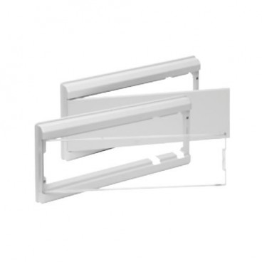 WHITE frame and door control panel for ICP + 24 or 38 items Solera 5204B