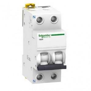 Interruptor automático 2P 10A RESIDENCIAL Schneider A9K17210