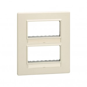 Comprar Plate for cabinets with 8 mod.estr.or 4 anch. SIMON 27851-32 online