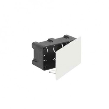 Recessed box 100x50mm with metal clamp Solera 561