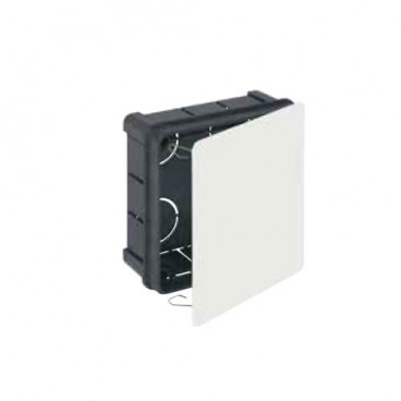 Recessed box 100x100mm with metal clamp Solera 562