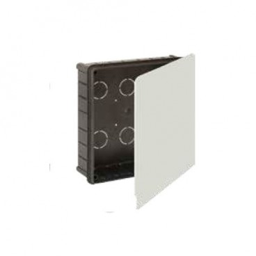 Recessed box 150x150mm with metal clamp Solera 623