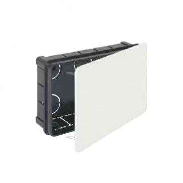 Recessed box 160x100mm with metal clamp Solera 563