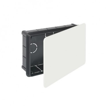 Recessed box 200x130mm with metal clamp Solera 614
