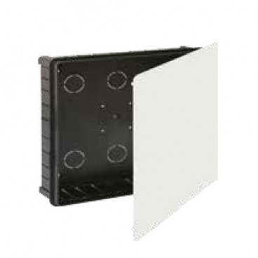 Recessed box 250x250mm with metal clamp Solera 624