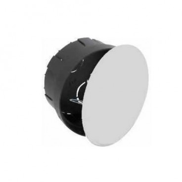 Recessed box 100x50mm with metal clamp Solera 515
