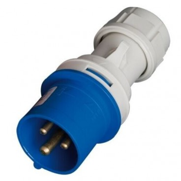 Cetac series plug with three poles (2 + Earth) 16A GSC 2300332