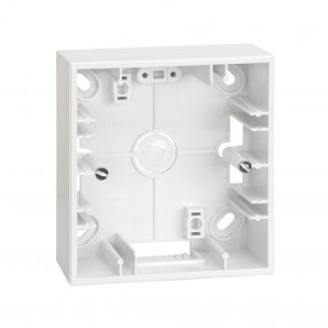 Caja superficie 1 elemento blanca SIMON 27 PLAY 2700751-030