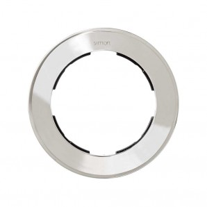 Mark Simon 88 - Frame 1 element, round chrome SIMON 88 88610-33