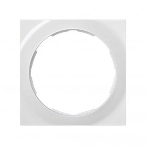 Mark Simon 88 - Frame 1 element square white 85x85 SIMON 88 88612-30