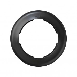Mark Simon 88 - Frame 1 element round graphite SIMON 88 88610-38