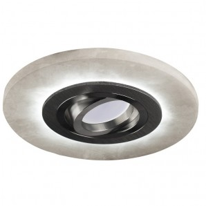 Recessed led Alabaster lighting combined CRISTALREDORD 01-010-15-080