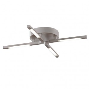 Ceiling lamp LED grey Tetra CRISTALREDORD 26-287-20-002