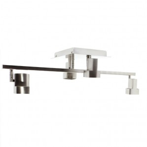 Ceiling 4-LIGHT MOCHA NICKEL SATIN CRISTALREDORD 012-2150-4-053
