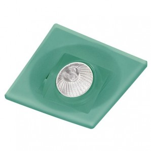 recessed square swivel dune green CRISTALREDORD 20-110-00-160