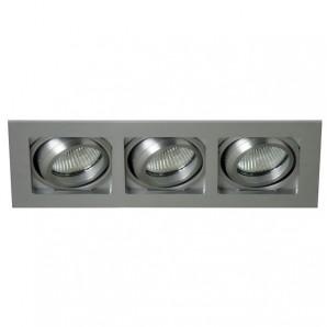 Empotrable basculante Lucer plata (3 luces) CRISTALREDORD 03-043-00-003