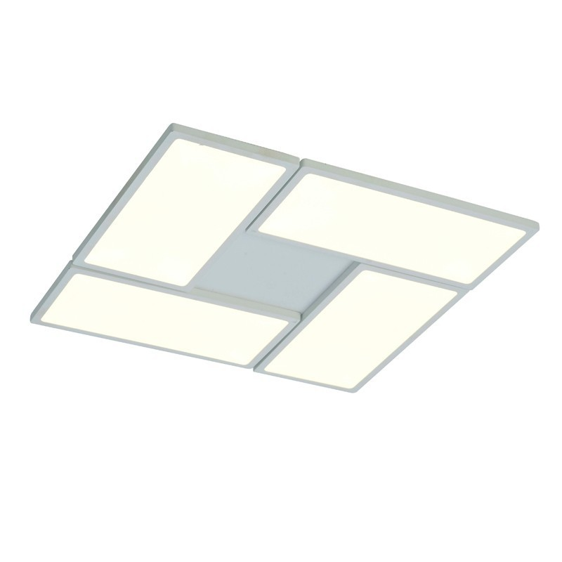 Plafón LED 60W, 3000K dimmable NEW OR BLANCO CRISTALREDORD 26-884-60-100