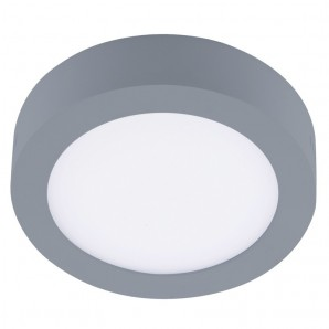 Downlight de LED 12W 4000K Know redondo gris CRISTALRECORD 02-300-12-181