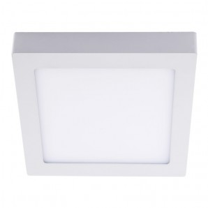 Downlight de LED 18W 4000K Know cuadrado blanco CRISTALRECORD 02-600-18-400