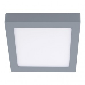 Downlight - fon-LED 18W 4000K Know quadrat grau CRISTALREDORD 02-600-18-181
