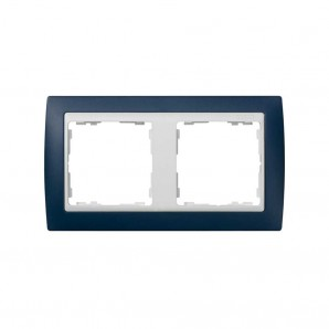 Frame 2 navy white pedestal elements SIMON 82622-64
