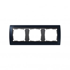 Frame 3 socket graphite graphite elements SIMON 82832-32
