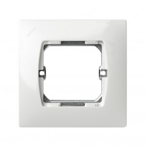 WHITE frame 1 element Simon 27 27601-65
