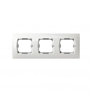 WHITE elements frame 3 Simon 27 27630-65