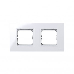 Comprar Frame, 2 elements, WHITE for intermediate piece Simon 27 PLAY 2701620-030 online