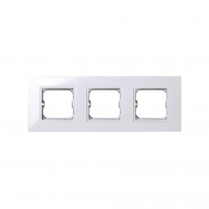 Comprar Frame, 3 elements, WHITE for intermediate piece Simon 27 PLAY 2701630-030 online
