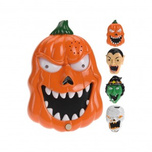 Halloween - Ringtone halloween with sound and light battery operated models assorted EDM 71984