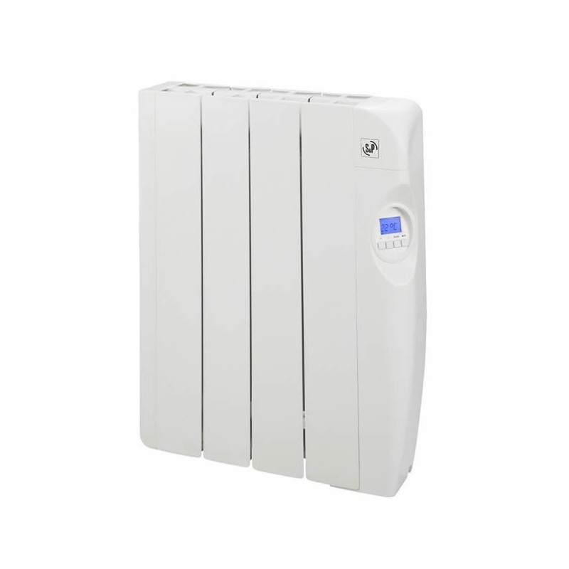Electric radiators of low consumption with fluid 4 elements 600W S&P EMI-4 PROGRAM