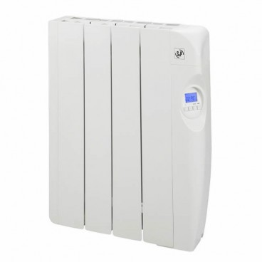 Low consumption electric radiator with fluid 4 elements 600W S&P EMI-4 PROGRAM