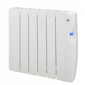 Electric radiators of low consumption with fluid 6 elements 1000W S&P EMI-6 PROGRAM