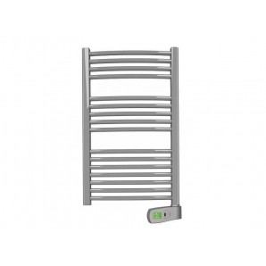 Towel dryer - Electric towel rail SYGMA 100 metallic 1000W Rointe STN100SEM2