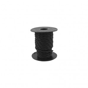 Comprar Electrical wire / textile 10 m 2x0.75mm twisted Black GSC 3902977 online