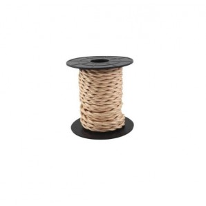 Comprar Electrical wire / textile 10 m 2x0.75mm twisted Light Brown GSC 3902981 online