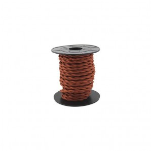 Comprar Electrical wire / textile 10 m 2x0.75mm twisted Copper GSC 3902985 online