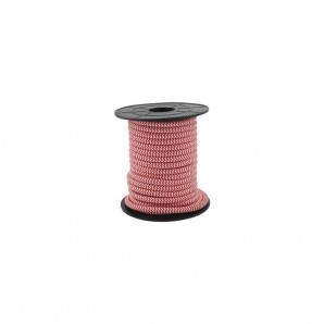 Electrical wire / textile 10 m 2x0.75mm White/Red GSC 3902988