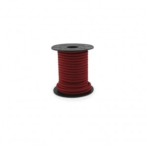 Electrical wire / textile 10 m 2x0.75mm Red/Black GSC 3902989