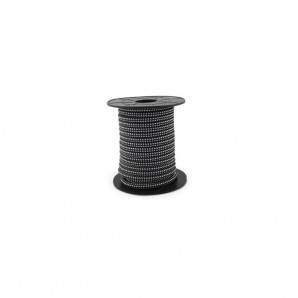 Electrical wire / textile 10 m 2x0.75mm Black/White GSC 3902990