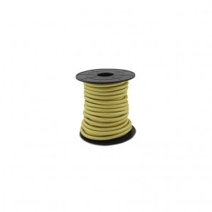 Electrical Cable twisted - Electrical wire / textile 10 m 2x0.75mm Champagne GSC 3902995