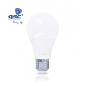 Bombilla LED estandar E27 8W 270º 6000K