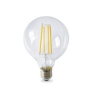 Lamp Series Gold deco. globe G95 LED 4W E27 1800K