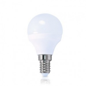 LED bulb spherical 6W E27 4200K