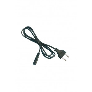 Cable connection AC006 (2x0.75mm) 1.5 M black